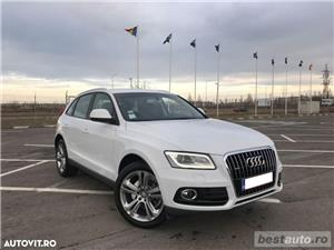 Audi Q5 Quattro / 2.0 TDi 190 CP / Full Led / Navigatie Mare  . - imagine 17