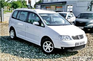 VW TOURAN - 1.6 BENZINA - 116 C.P. - CUTIE AUTOMATA - vanzare in RATE FIXE cu avans 0%. - imagine 3