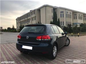 Volkswagen Golf VI / 1.6 TDi 105 CP / Navigatie RNS 510 / Tapiterie Piele Bej / Senzori de Parcare . - imagine 17