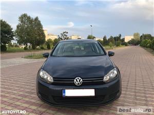 Volkswagen Golf VI / 1.6 TDi 105 CP / Navigatie RNS 510 / Tapiterie Piele Bej / Senzori de Parcare . - imagine 1