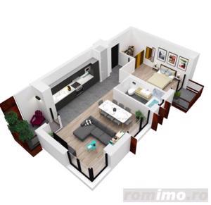 Apartament nou cu 2 balcoane, loc parcare inclus - imagine 4