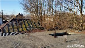 TEREN (parcelabil) și CASĂ în construcție. Comuna Plopu, Sat Nisipoasa, Prahova  - imagine 10