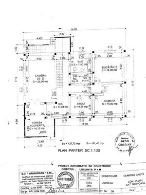 TEREN (parcelabil) și CASĂ în construcție. Comuna Plopu, Sat Nisipoasa, Prahova  - imagine 14