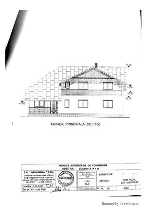 TEREN (parcelabil) și CASĂ în construcție. Comuna Plopu, Sat Nisipoasa, Prahova  - imagine 16