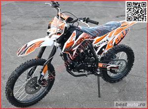 Moto Cross BEMI Hurricane 150cc Off-Road - imagine 5