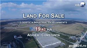 Logistic Land For Sale (19.43 HA) - Agigea (Constanta Harbour Area) - imagine 1