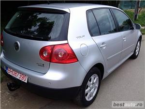 Vand VW GOLF 5 TOUR Benzina RAR EFECTUAT Model 2008 Climatronic - imagine 4