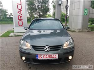 VW Golf V 1.9TDI Highline Navigatie Touchcreen Jante Klima FULL - imagine 2