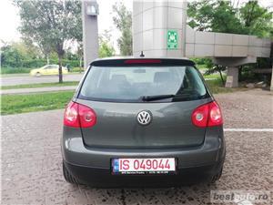 VW Golf V 1.9TDI Highline Navigatie Touchcreen Jante Klima FULL - imagine 8
