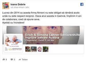 Ingrijire batrani Austria-Erich&Simona L A H N E R Seniorenhilfe - imagine 1