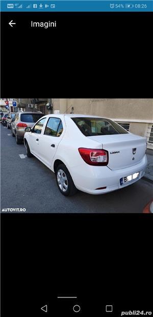 Dacia Logan 2014  4099 + TVA deductibil prim prop 89500 km AC Bluetooth geamuri el carte service - imagine 1