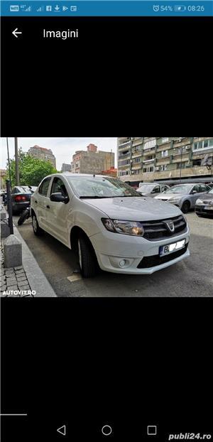 Dacia Logan 2014  4099 + TVA deductibil prim prop 89500 km AC Bluetooth geamuri el carte service - imagine 3