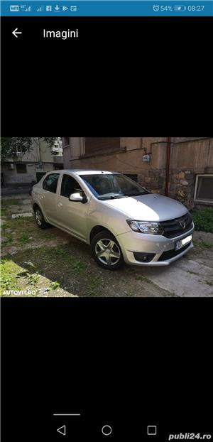 Dacia Logan Laureate 2014 carte service AC Bluetooth Comp Bord 124000 km 4201E + TVA deductibil - imagine 3