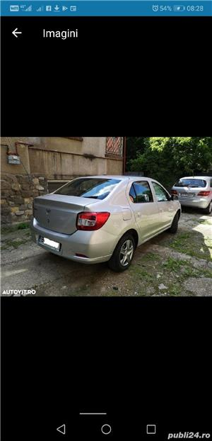 Dacia Logan Laureate 2014 carte service AC Bluetooth Comp Bord 124000 km 4201E + TVA deductibil - imagine 4