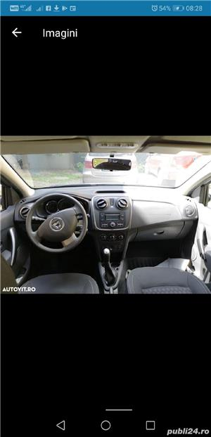 Dacia Logan Laureate 2014 carte service AC Bluetooth Comp Bord 124000 km 4201E + TVA deductibil - imagine 5