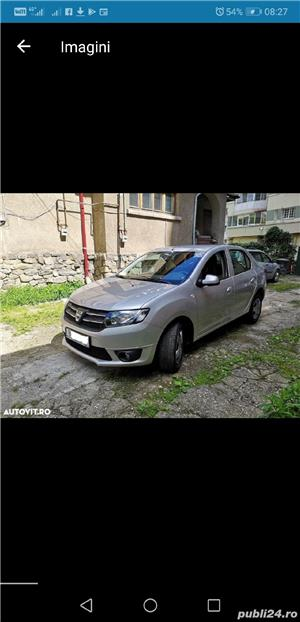 Dacia Logan Laureate 2014 carte service AC Bluetooth Comp Bord 124000 km 4201E + TVA deductibil - imagine 1