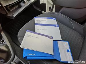 Dacia Logan Laureate 2014 carte service AC Bluetooth Comp Bord 124000 km 4201E + TVA deductibil - imagine 9
