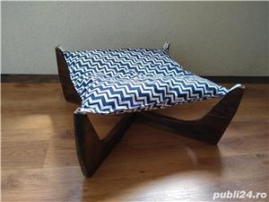 Pat - hamac - culcus pentru pisici - imagine 3