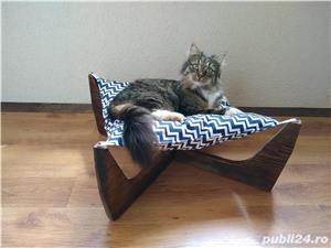 Pat - hamac - culcus pentru pisici - imagine 7