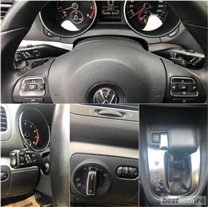 VW Golf 6 1.4 TSI/160 cp/ 2010 Highline/Automata DSG /Alcantara/padele f1           - imagine 11