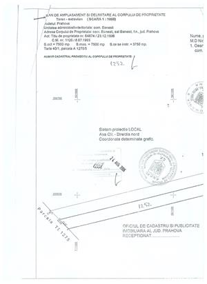 ocazie,teren extravilan banesti - imagine 3