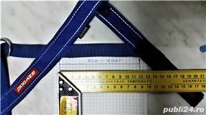 NOU HAM EzyDog QUICK FIT M caine talie medie 10-15kg bleu doar probat cu un mic defect de fabricatie - imagine 7