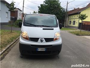 Renault Trafic 2.0 diesel 6+1 viteze Euro-4 Clima - imagine 7