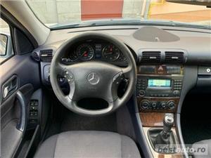 Mercedes-Benz C180 Kompressor 1.8 Benzina Facelift 143cp Unic Proprietar Germania - imagine 8