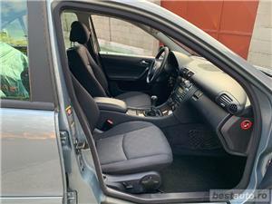 Mercedes-Benz C180 Kompressor 1.8 Benzina Facelift 143cp Unic Proprietar Germania - imagine 9