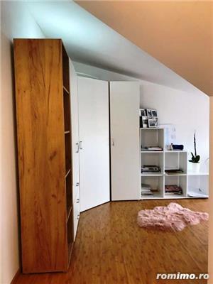 Girocului- 3 cam - apartament pe 2 nivele - Centrala - Mobilat! - imagine 2