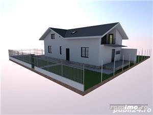 1/2 Duplex 4 camere 3 bai 140mp/utili zona Dumbravita - imagine 5