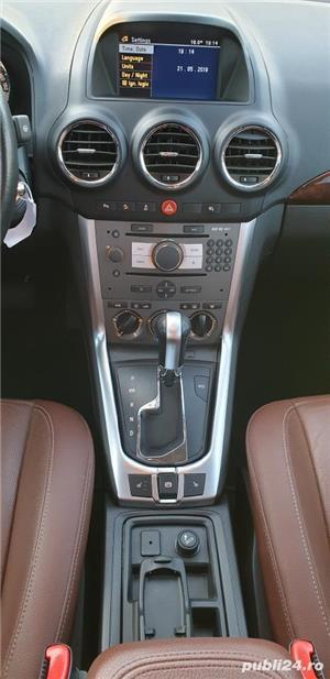 Opel Antara Cosmo 2.2 CDTI - 185 CP- 11.2011- EURO 5- Piele/Automata/Scaune Incalzite/Senzori/Pilot - imagine 8