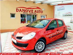 Renault Clio,GARANTIE 3 LUNI,AVANS 0,RATE FIXE,motor 1200 cmc,Clima,Euro 4.  - imagine 1