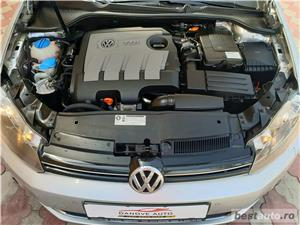 Vw Golf 6,GARANTIE 3 LUNI,AVANS 0,RATE FIXE,motor 1600 TDI,105 Cp,Euro 5 - imagine 9
