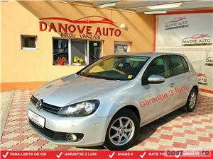 Vw Golf 6,GARANTIE 3 LUNI,AVANS 0,RATE FIXE,motor 1600 TDI,105 Cp,Euro 5 - imagine 1