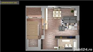 Apartament 2 camere cu 2 balcoane și dressing în xcity towers - imagine 2