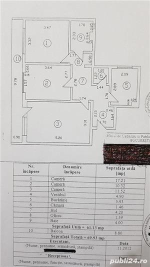 Pantelimon vanzare 3 camere Spital - imagine 8