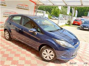 Ford Fiesta,AVANS 0,RATE FIXE,motor 1400 Cdti,70 CP,Clima,Euro 5. - imagine 3
