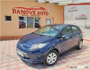 Ford Fiesta,AVANS 0,RATE FIXE,motor 1400 Cdti,70 CP,Clima,Euro 5. - imagine 1