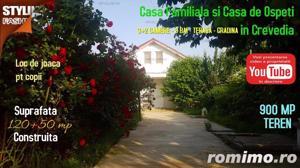 Casa familiala si casa de oaspeti pe un teren de 900 mp in Crevedia - imagine 1
