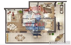 Penthouse de 3 camere | Comision 0% |Terasa 50 mp - imagine 4