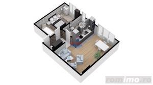 Apartament 2 camere   53mpu. - Proiect exclusivist - imagine 3