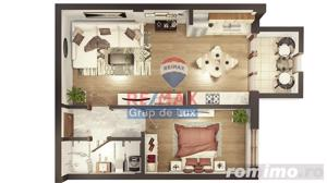 Apartament 2 camere | Decomandat | Comision 0% - imagine 2