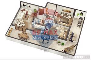 Penthouse de 3 camere | Comision 0% |Terasa 50 mp - imagine 3