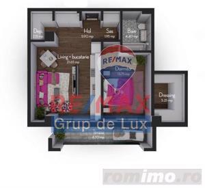Apartament 2 camere | Compartimentarea ideala | Dezvoltator - imagine 6