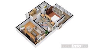 Apartament 2 camere   Dezvoltator Imobiliar   Total decomandat - imagine 5