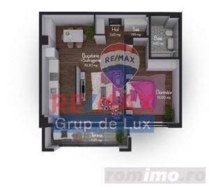 Apartament 2 camere | Rezidential nou - Finisat modern - imagine 6
