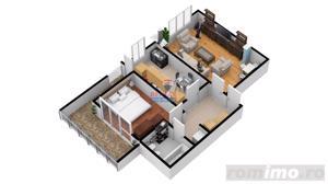 Apartament 2 camere   Dezvoltator Imobiliar   Total decomandat - imagine 6