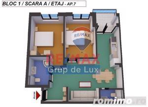 Apartament nou - 3 camere -  compartimentare ideală -  zonă liniştită ! - imagine 4