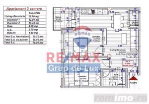Apartament nou - 3 camere -  compartimentare ideală -  zonă liniştită ! - imagine 5